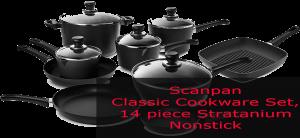 Scanpan Classic Cookware Set 14 piece Non Stick