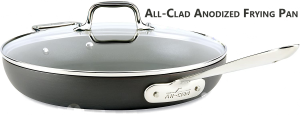 All-Clad Anodized Frying Pan