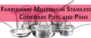 Farberware Stainless Steel Cookware Set (10 Pieces)