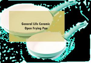 General Life Ceramic Open Frying Pan