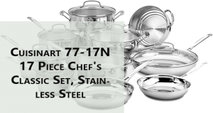 Cuisinart Classic Stainless Steel Silver Set (77-11G & 11 Pieces)