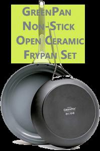 GreenPan Non-Stick Open Ceramic Frypan Set