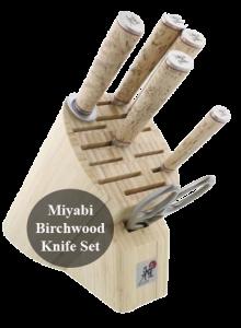 Miyabi Birchwood GS2 7-pc Knife Block Set