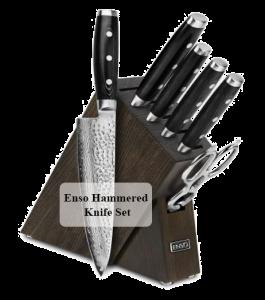 Enso Hammered Knife Set