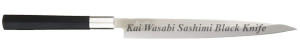 Kai Wasabi Sashimi Black Knife