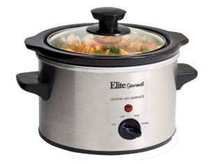 Elite Gourmet Electric Slow Cooker Ceramic MST-250XS