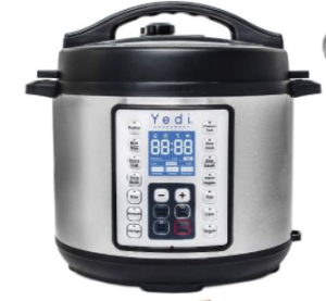 Yedi Houseware Programmable Instant Pressure Cooker
