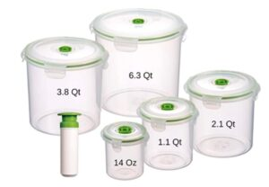 11 Set Lasting Freshness Storage Containers