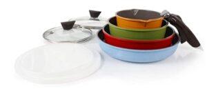 Neoflam Midas 9-piece Non-Stick Ceramic Cookware Set