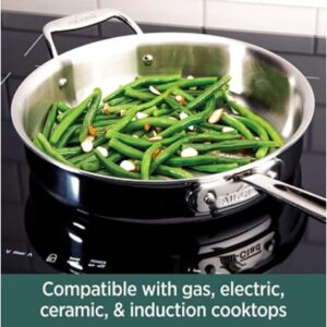 All-Clad D5 Stainless Pots and Pans- 10-Piece cookware Set