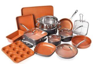 Gotham 20 Piece All in One Kitchen system cookware set