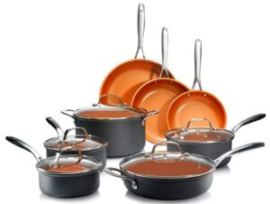 Gotham Steel Pro Hard-Anodized Pots and Pans