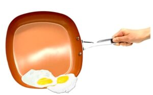 Gotham Steel Square Chefs Frying Pan