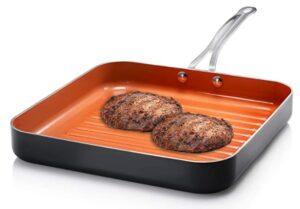 Gotham square steel Grill Pan