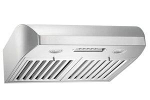 KOBE CHX2230SQB-1 Brilliant 30-inch Under Cabinet Range Hood