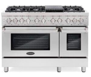 Cosmo Dual Fuel Freestanding Oven Range