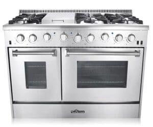 Thor Kitchen HRG4808U Professional Double Oven Gas Range