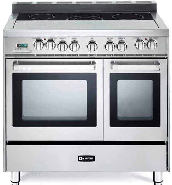 Verona VEFSEE365DSS Double Oven Electric Oven Range