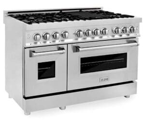 ZLINE Dual Fuel Electric Oven with Gas Stove