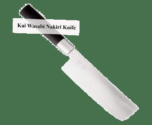 Kai Wasabi Nakiri Knife